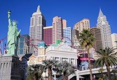 纽约纽约旅馆&赌博娱乐场射击 免版税图库摄影