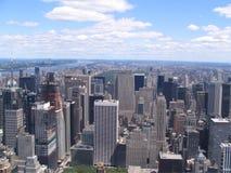 纽约美国全景  免版税图库摄影