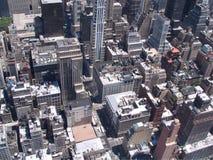 纽约美国全景  库存图片