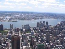 纽约美国全景  免版税库存图片