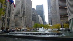 从纽约美国的看法 免版税库存照片