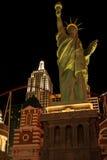 纽约自由女神像拉斯维加斯 免版税库存图片