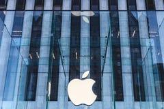 纽约苹果中心 库存图片
