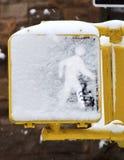 纽约街信号 库存图片