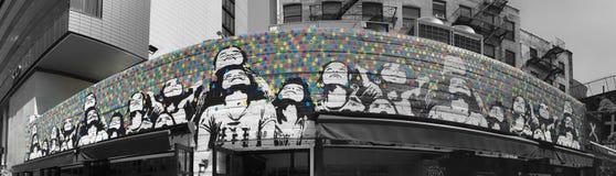 纽约街道艺术 免版税图库摄影