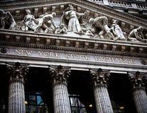 纽约证券交易所 图库摄影
