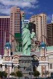 纽约赌博娱乐场和旅馆在拉斯维加斯,内华达 库存照片