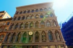 纽约都市看法  伦敦苏豪区区 街道、人们和touris 免版税库存图片