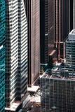 纽约都市风景俯视图 库存图片