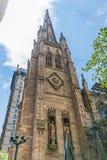 纽约领港教会哥特式建筑 免版税库存图片