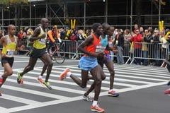 纽约马拉松2013年 库存照片