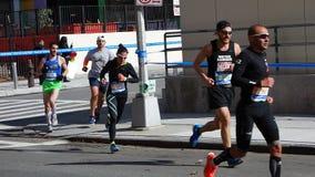 2014年纽约马拉松127 库存图片