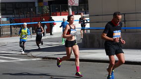 2014年纽约马拉松147 库存照片