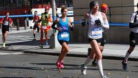 2014年纽约马拉松165 库存照片