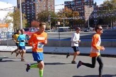 2014年纽约马拉松183 库存照片