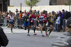 纽约马拉松2014年 库存图片