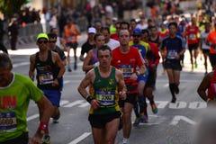 纽约马拉松2016年 库存图片