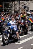 纽约骄傲游行 免版税图库摄影