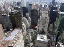 纽约鸟瞰图 免版税库存图片