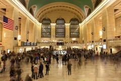 纽约,全部中央终端,曼哈顿 库存图片