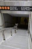 纽约,地铁 库存图片