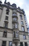 纽约,威严第2 :从曼哈顿的历史建筑达可它在纽约 库存照片