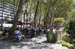 纽约,威严第3 :从曼哈顿的布耐恩特公园在纽约 免版税库存图片
