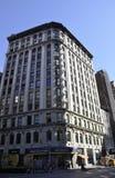 纽约,威严第3 :从曼哈顿的百老汇历史建筑在纽约 库存照片