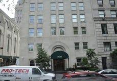 纽约,威严第2 :从第5条大道的历史建筑从曼哈顿在纽约 库存照片