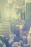 纽约,曼哈顿,办公楼 免版税库存照片