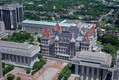 纽约,状态国会大厦 库存照片