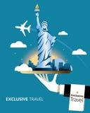纽约,目的地 免版税图库摄影