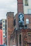 纽约,纽约- 2013年12月30日:都市风景在纽约,曼哈顿 免版税图库摄影
