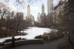 纽约,美国中央公园 免版税库存图片