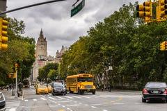 纽约,美国建筑学  免版税库存照片