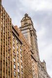 纽约,美国建筑学  免版税图库摄影