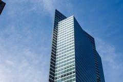 纽约,美国- 2018年3月30日:在世界tra的现代大厦 库存图片