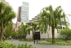 纽约,美国- 2018年5月28日:犹太遗产博物馆在更低的 图库摄影