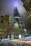纽约,美国-自由塔在更低的曼哈顿 免版税库存照片