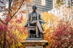 纽约,美国- 2012年, 12月22日:威廉H 他担当了纽约的第12个州长,美国参议员和美国国务卿 他担当了纽约的第12个州长,联合国 库存照片