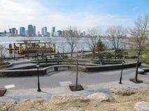 纽约,巴特里公园 库存照片