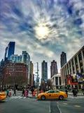 纽约, NY林肯中心 库存照片