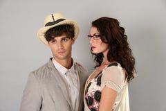 纽约, NY - 9月06日:模型摆在塞尔焦达维拉时尚介绍 库存照片