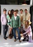 纽约, NY - 9月06日:设计师塞尔焦塞尔焦达维拉时尚介绍的达维拉(c) 库存照片