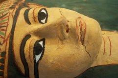 纽约:在古根海姆美术馆的埃及sarsarcophagus 2014年9月17日 库存图片