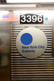 纽约-地铁站 免版税图库摄影