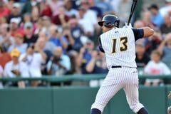 纽约洋基棒球运动员艾力士・罗德里奎兹修复任务 免版税库存图片