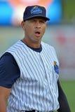 纽约洋基棒球运动员艾力士・罗德里奎兹修复任务 库存图片