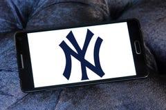 纽约洋基, ny棒球体育俱乐部商标 库存图片