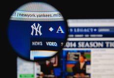 纽约洋基 免版税库存照片